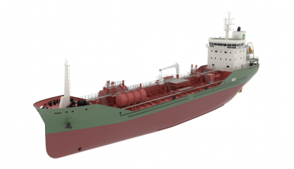 6400 DWT chemical Tanker Project