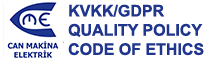 KVKK/GDPR Quality Policy & Code Of Ethics